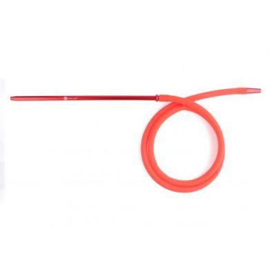 Mata Leon Silikonschlauch mit Alumundstück, rot