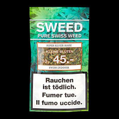 Sweed Super Silver Haze (kleine Blüten) 10 g